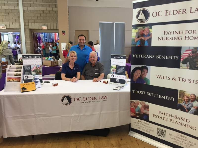 OC Elder Law at Brea Wellness Festival